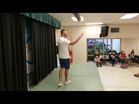 Sam Kuhnert @ Mabry Elementary School Tampa FL