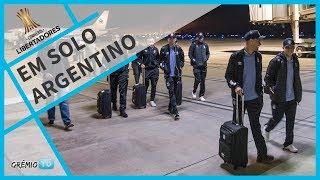 Tricolor já está na Argentina l GrêmioTV