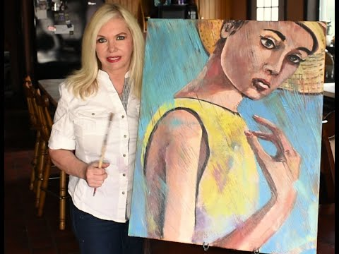 Art Lessons and Deomonstrations – KAREN ZIMA. Paint With Style