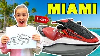 Whatever You Draw, I\'ll Buy It Challenge *IN Miami