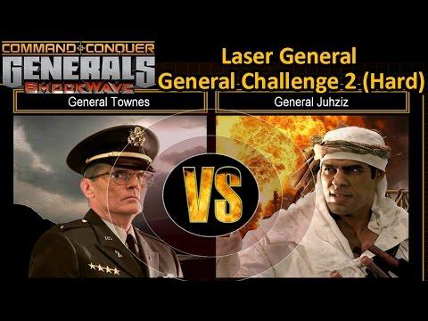 C&C ShockWave 1.2 Generals Challenge : USA Laser vs GLA Demolition (HARD)