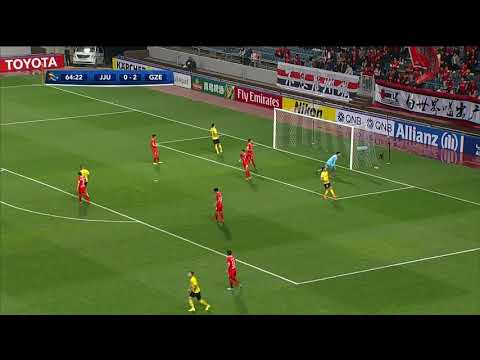 Jeju United FC 0-2 Guangzhou Evergrande (AFC Champions League 2018: Group Stage)
