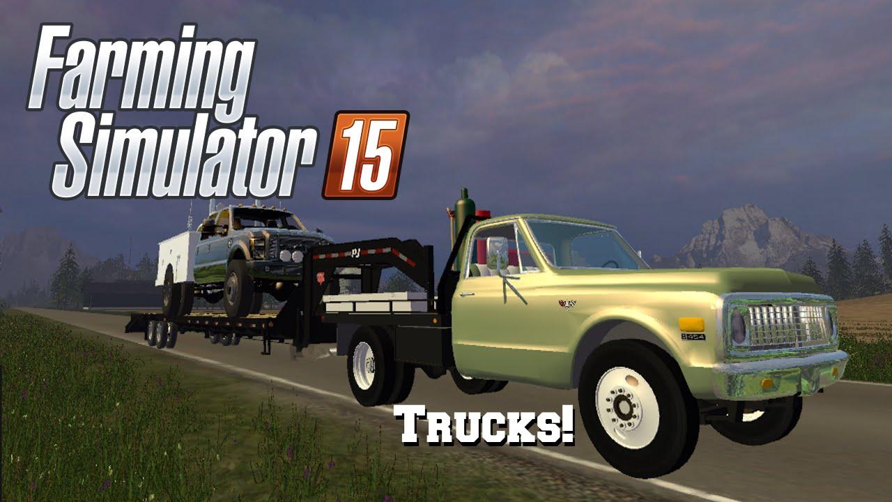 Farming Simulator 2015: Mod Spotlight #37: More Trucks!