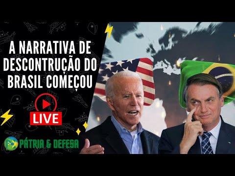 A Narrativa de Desconstrução do Brasil Começou - Será Intensa e Rápida