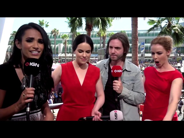 12 monkeys comic con interview - IGN