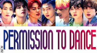 BTS(탄소년단) - Permission To Dance [Colour Coded Eng Lyrics]