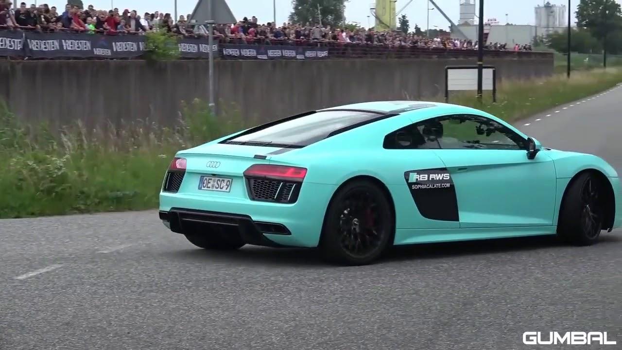 Super carros acelerando!