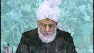 Friday Sermon : 24th September 2010 - Part 1 (Urdu)