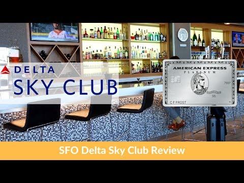Delta Sky Club At SFO Review