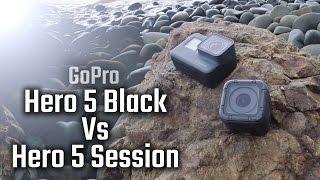 GoPro Hero 5 Black vs Hero 5 Session - Hands On Review