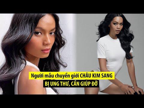 Người mẫu chuyển giới Châu Kim Sang bị viêm màng não, ung thư xương di căn