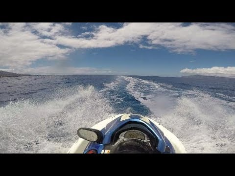Maui Hawaii Travel Day #4  (Jet Ski Race)
