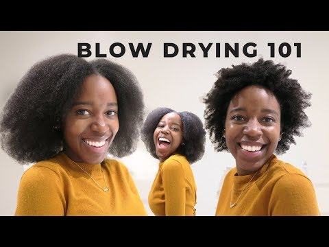 blowouts-on-4c/4b-natural-hair-without-heat-damage-|-blowdryer-comb