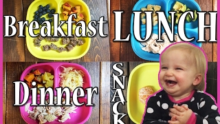 What My Paleo ONE YEAR OLD Eats In a Day | #1