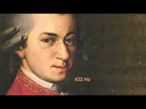 Mozart - Piano Sonata in F,KV 533 & 494-Andante,KV 533 @ 432 Hz