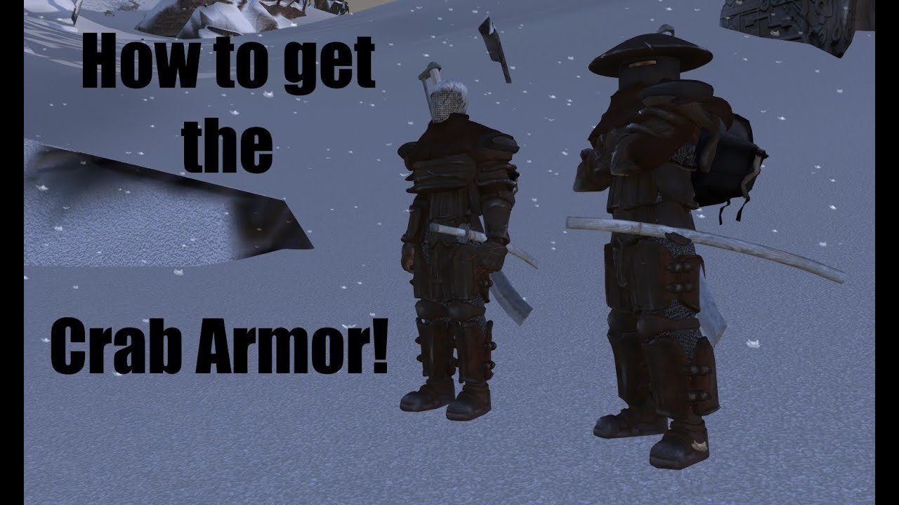 Kenshi - How to get the Crab Armor!