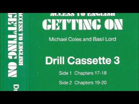 Access to English (New edition, 1984) 2 - Getting on -- Drill cassette 3 - for units 17-20 - audio