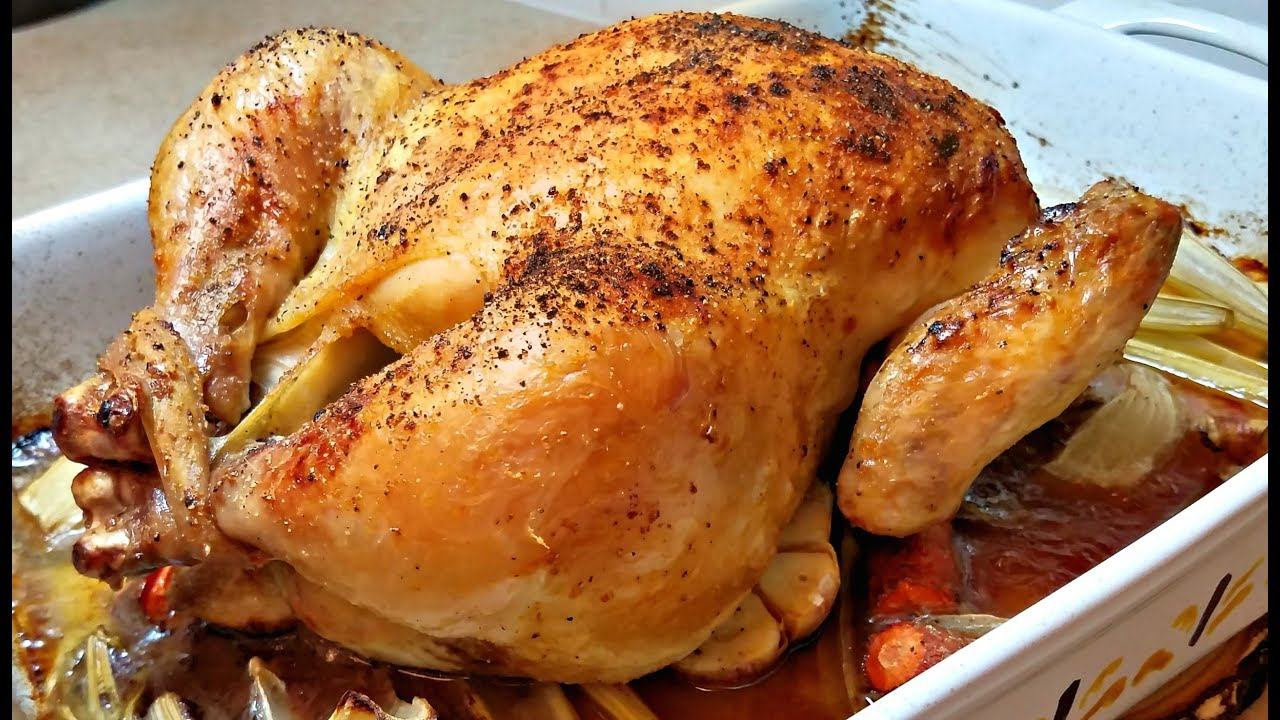 How to Cook Roast Chicken | Baked Chicken Recipe | Oven Roasted  Chicken