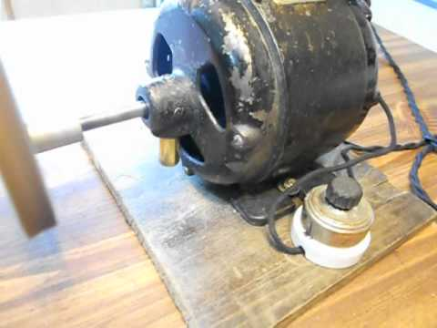 Vintage robbins myers 1904 15 type p motor maxon for Robbins and myers replacement motors
