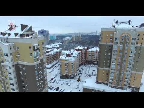 Снежный город - 4K