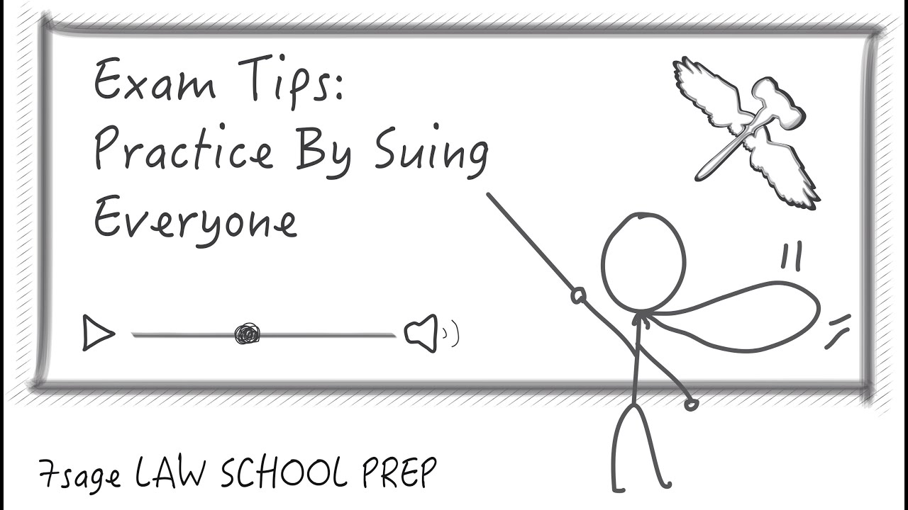 Exam Tips: Practice Issue-Spotting By Suing Everyone (Just