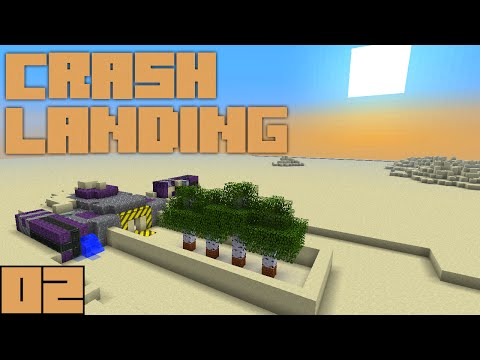 Minecraft Crash Landing - Water Supply [E02]