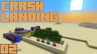 Minecraft Crash Landing - Water Supply [E02]