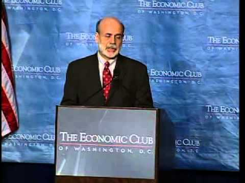 The Honorable Ben S. Bernanke, Chairman, United States Federal Reserve