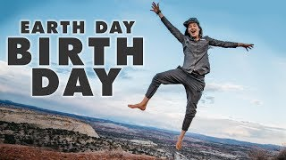 Earth Day Birthday // Adventures on Planet Earth + Ukulele // 13ft Scamp Trailer