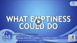 Ed Lapiz - WHAT EMPTINESS COULD DO🆕Latest Sermon 👉 Review Ed Lapiz Latest Sermon New Video 👉