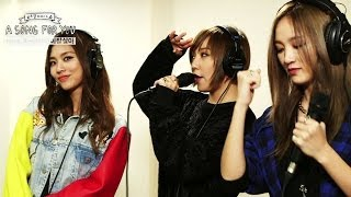 global request show a song for you   hush by miss a 20131122