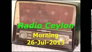 01 Bhajan~Gair Filmi Geet~Radio Ceylon 26-07-2013~Morning