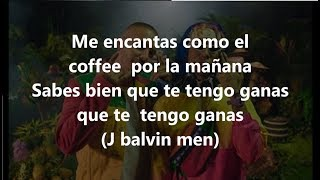 LETRA MOCCA REMIX J BALVIN, LALO EBRATT,  TRAPICAL lyrics