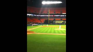 Final out marlins vs pirates 4/21/11