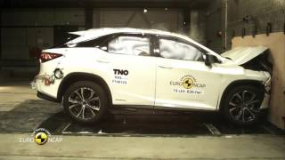 Lexus RX - Crash Tests 2015 | AutoMotoTV