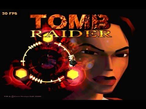 Tomb Raider (PC/DOS) Peru, longplay, 1996, Core Design, Eidos (3Dfx)