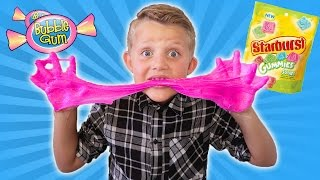DIY EDIBLE SLIME! How to make MESSY SLIME CANDY You Can Eat | Toys & Games