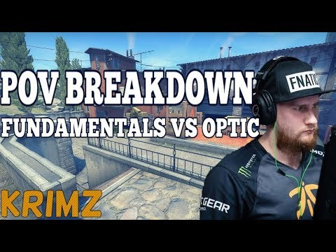 POV Breakdown - KRIMZ Fundamentals vs OpTic on Inferno (Quarter-Final at EPL)
