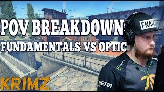 POV Breakdown - KRIMZ Fundamentals vs OpTic on Inferno (Quarter-Final at EPL)