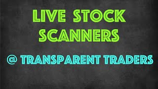 etrade gap scanner