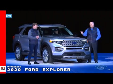 2020 Ford Explorer Unveiling