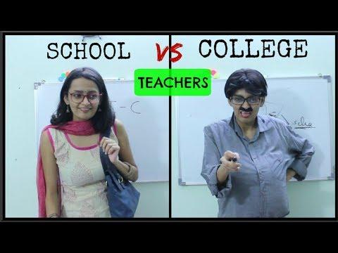 Teachers: School vs College | DiviSaysWhat