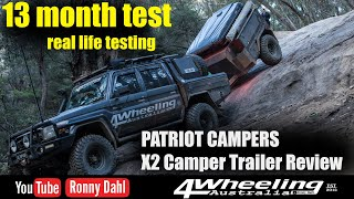 X2 Camper Trailer Review 13 month testing, HOW GOOD IS IT ?