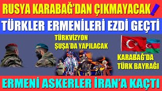 AS IF RUSSIA WILL NOT LEAVE KARABAKH / THE TURKS CRUSHED THE ARMENIANSARMENIAN SOLDIERS FLEE TO IRAN