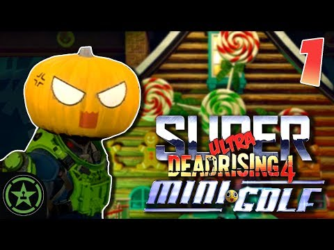 Let's Play - Dead Rising 4 Mini Golf: Course 1
