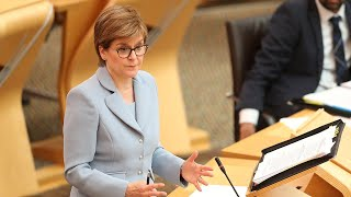video: Politics latest news: No 10 afraid to 'live with Covid', senior Tory warns, as concerns mount over lockdown delay - watch Nicola Sturgeon live