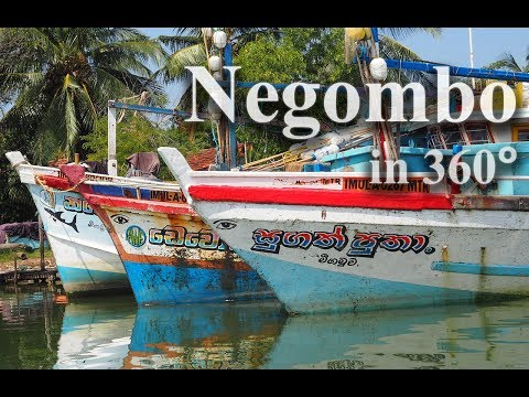 Negombo, the laid back alternative to Colombo in 360 degrees