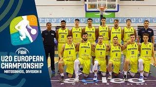 Romania V Kosovo   Full Game   F BA U20 European Championship Division B 2019