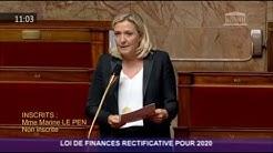 Intervention de Marine Le Pen sur les mesures économiques pour contre le COVID19