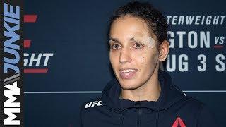 UFC on ESPN 5:Antonina Shevchenko post fight interview